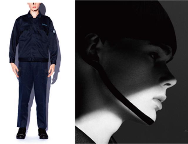 画像12: 中小企業のユニフォームだけを使用したファッションマガジン