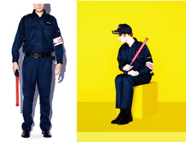 画像4: 中小企業のユニフォームだけを使用したファッションマガジン