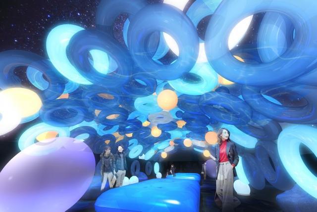 画像2: 見方を変えて楽しむ『FWD ウィンター・ナイトプール』が12月13日よりオープン!