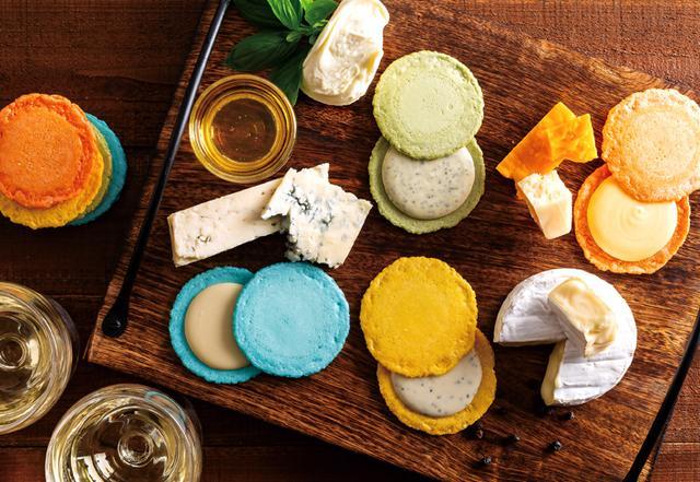 画像1: 彩るおいしさ チーズ×えびせんべい