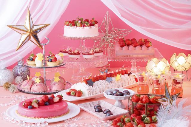 """画像: 京都センチュリーホテル ~""""あまおう""""煌めく、甘く可憐ないちごスイーツが食べ放題~ Super Strawberry Fair 2019 ~Strawberry Planet~"""