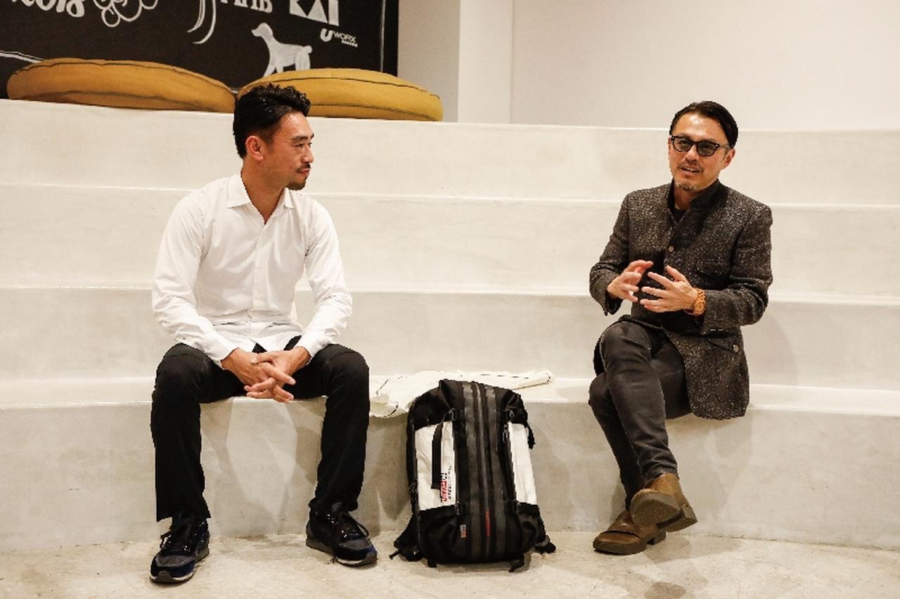 画像1: リバースプロジェクト 代表龜石太夏匡 氏 × Neu interesse公式レーシングドライバー横溝直輝 氏