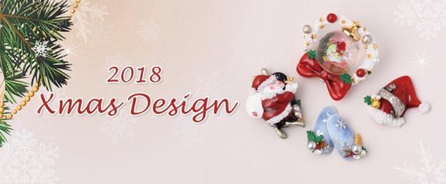 画像: 12月25日(火)まで限定!サンタやツリーのモチーフで、指先からクリスマス気分♪ 「Happy Holiday!クリスマスキャンペーン」