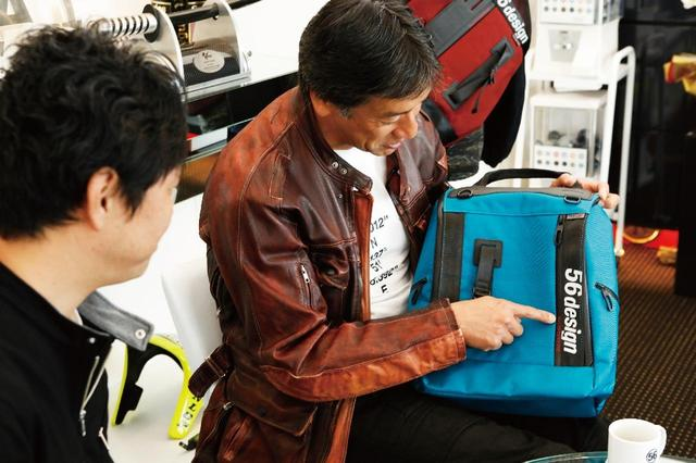 画像4: モーターカルチャー× ファッションNeu interesse バイクライフスタイルブランド56design と夢のコラボ実現