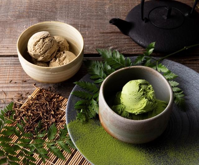 画像1: 全米No,1オーガニックアイスクリームThree Twins Ice Cream初の日本限定フレーバー「抹茶・ほうじ茶」が新登場!