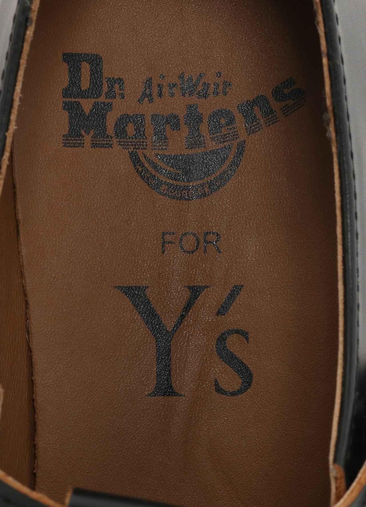 画像4: 「Y's」×「Dr. Martens」コラボレーション 新コレクション発売