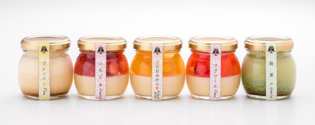 """画像2: 日本初!""""花""""をコンセプトにしたカラフルなプリン専門店「浜松プリンPriful」"""