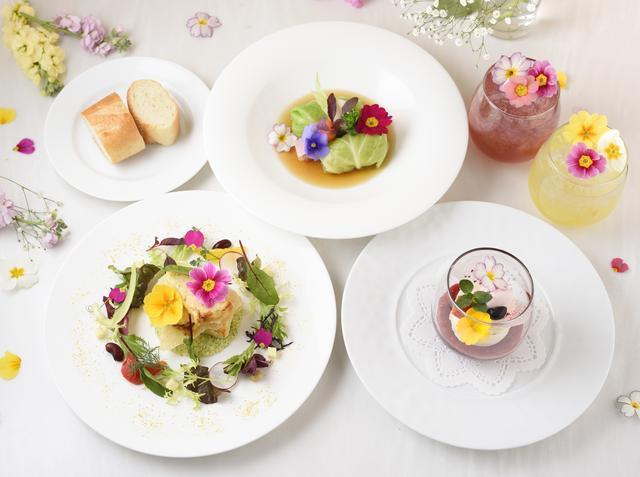 画像1: 【Spring Flower Garden】 メニュー紹介<全て税込価格>
