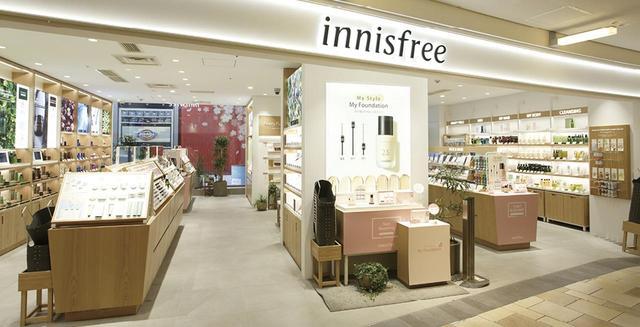画像1: 西日本初Innisfree【イニスフリー】 韓国チェジュ島の恵みが生きる「Innisfree」昨 年秋オープンした西日本唯一の店舗