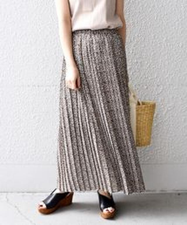 画像7: リゾートプリント&ちょいデザインスカート