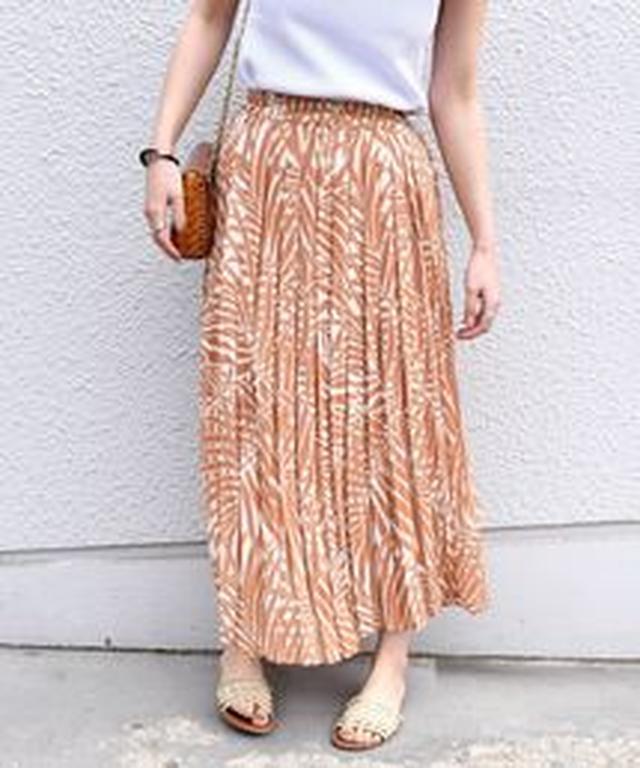 画像6: リゾートプリント&ちょいデザインスカート