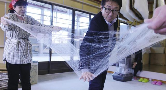画像2: 人の手によって作られる近江真綿 西川NISHIKAWA