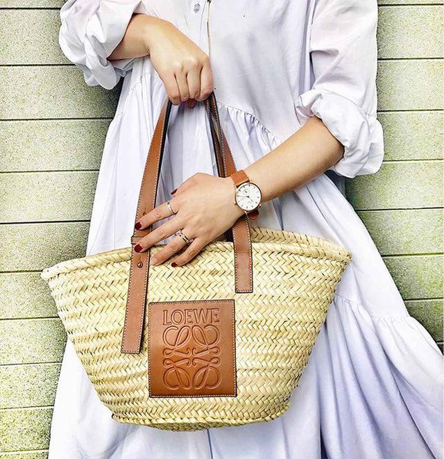 画像1: ロエベのカゴバッグ