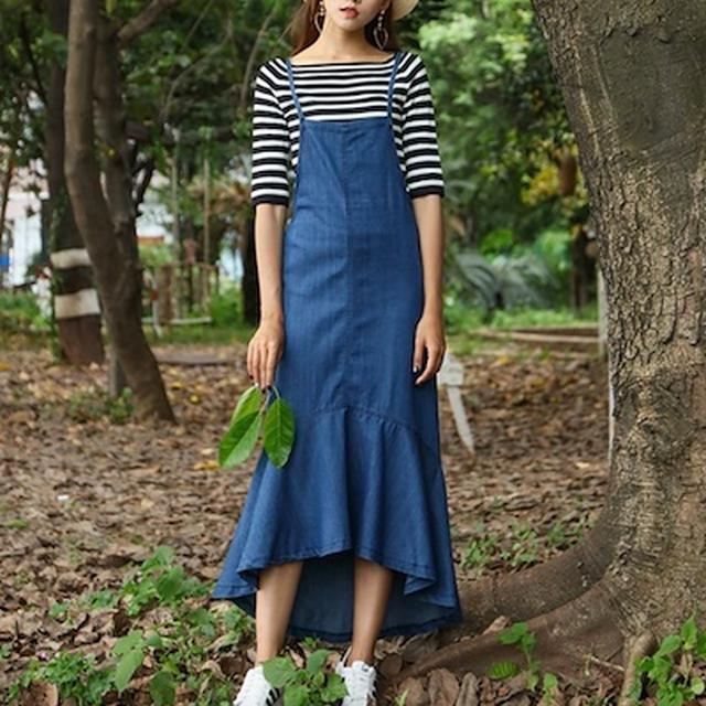 画像3: 【夏到来!】デニムロングスカートのコーディネート5選