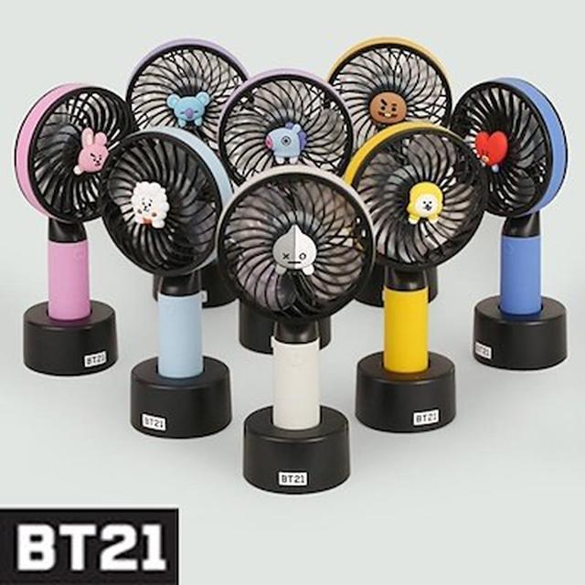 画像: [Qoo10] BT21パジャマ2 : BT21FAN  ミニ扇風機 : KPOP