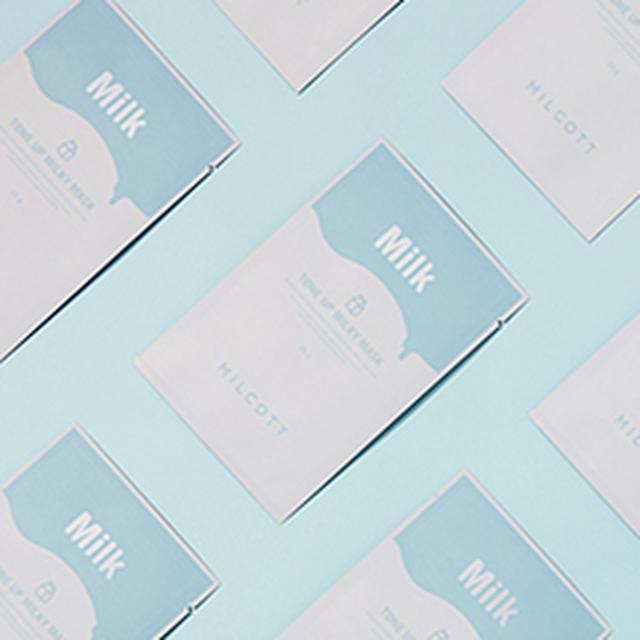 画像: [DHOLIC] [MILCOTT]TUミルキーマスクスキンケアマスク|レディースファッション通販 DHOLICディーホリック [ファストファッション 水着 ワンピース]