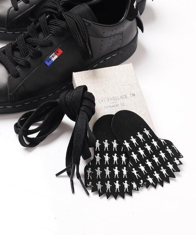 画像2: ユニークなトリプルコラボシューズ 7月に発売 SKETCH mintdesigns x PATRICK x VINCENT SHOE LACE