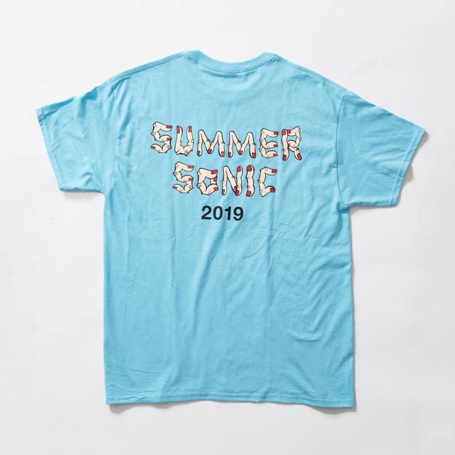 """画像7: SHIPSがサマソニフェスTシャツ第2弾発表!昨年に引き続き""""野生爆弾くっきー""""とのコラボ決定。"""