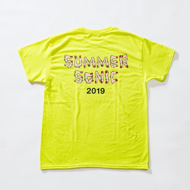 """画像6: SHIPSがサマソニフェスTシャツ第2弾発表!昨年に引き続き""""野生爆弾くっきー""""とのコラボ決定。"""
