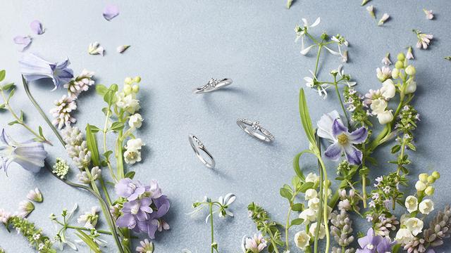 画像2: ブライダルジュエリー専門ブランド「アイプリモ」から軽やかで繊麗な新シリーズ「フラワリー」誕生