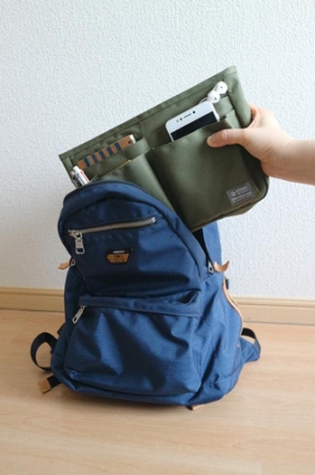 画像2: 大きなトートバッグでも整理整頓できるバッグインバッグがヴィレヴァン通販に新登場!