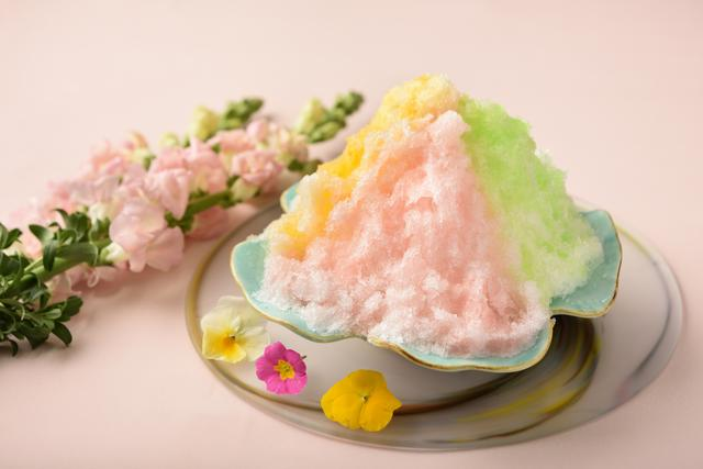 画像: 【NEW】花色かき氷:界 伊東(静岡県・伊東温泉)