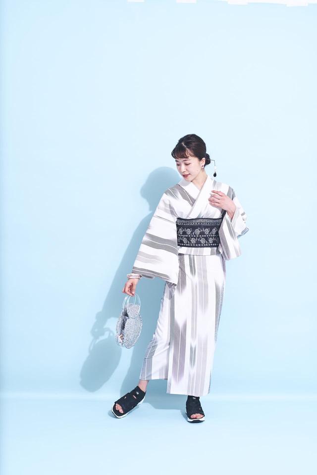 画像: 令和初の夏 今年の浴衣トレンド