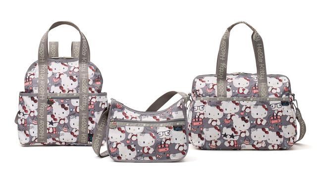 画像: HelloKitty(ハローキティ) ヴィンテージのハローキティのぬいぐるみをデザイン。レスポートサックのバッグを持ったハローキティがとってもキュート!(11 型展開)