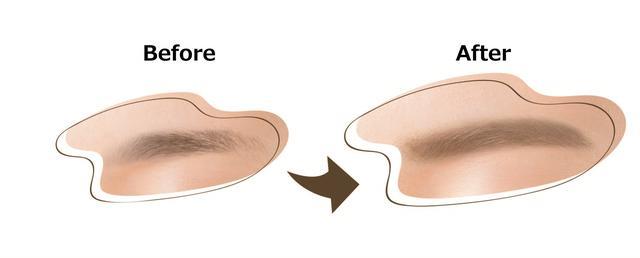 画像2: 描くだけ、染まる(※1)!自然な眉色が最長3日間消えない(※2)。 眉ティントペンがK-パレットから新発売!