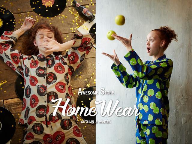 画像1: ポップでレトロな、オリジナルデザイン!「オーサムストア」のホームウェアに秋冬の新作8種が登場!
