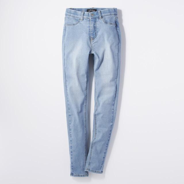 画像2: 穿くだけで太もも・ヒップ-3cm!? ジーンズ『SECRET LINE』9月9日発売
