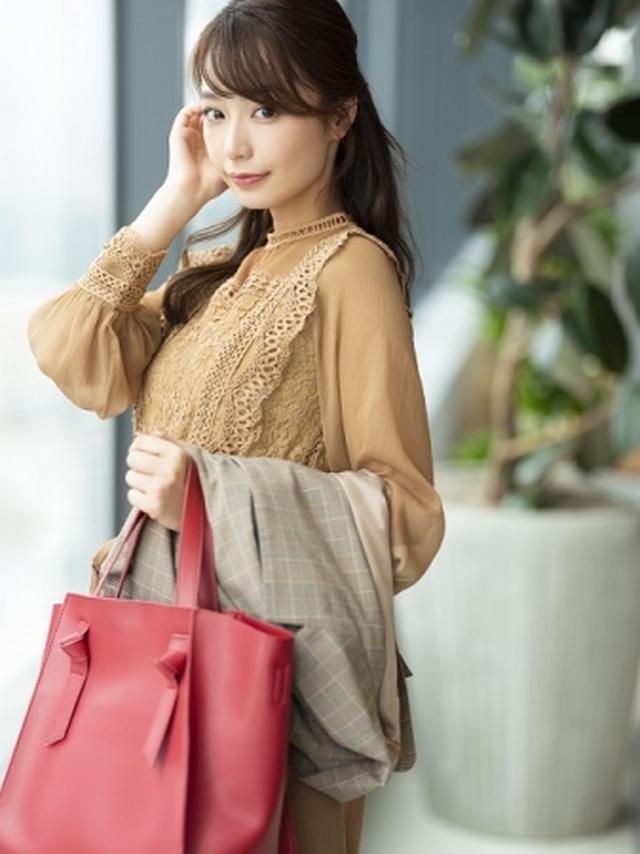 画像: 「Andemiu」、今注目のフリーアナウンサー・宇垣美里が秋のお仕事服を提案