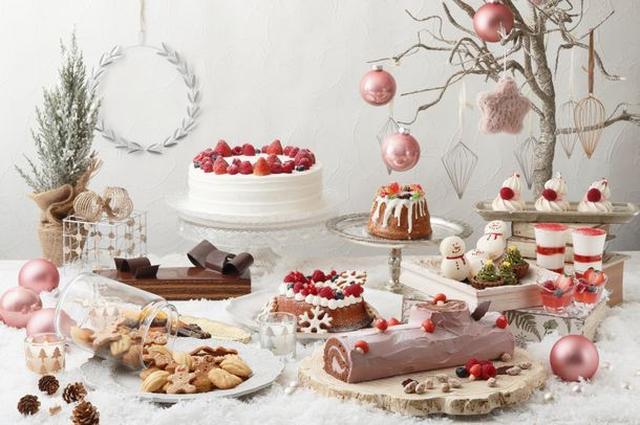 画像1: ストロベリーにラズベリー、ベリー系スイーツを中心とした クリスマススイーツビュッフェを開催!