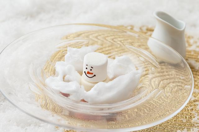 画像: おもてなしの一皿「フォン・ドゥ・ネージュ」