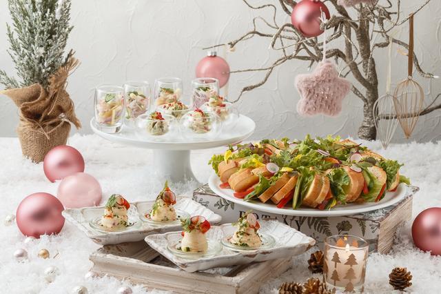 画像2: ストロベリーにラズベリー、ベリー系スイーツを中心とした クリスマススイーツビュッフェを開催!