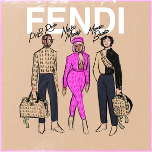 画像2: フェンディ、ニッキー・ミナージュとコラボした新作カプセルコレクション「FENDI PRINTS ON」を発表!
