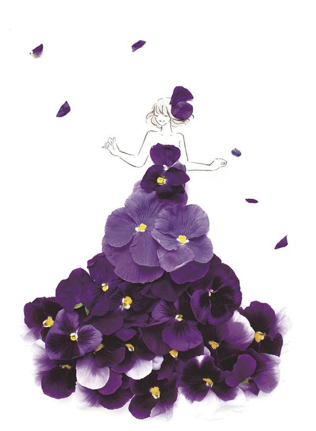 画像2: あなたを「美」しく「咲」かせる祝福の1着 19万人が待っていた、花とウェディング のコラボが実現