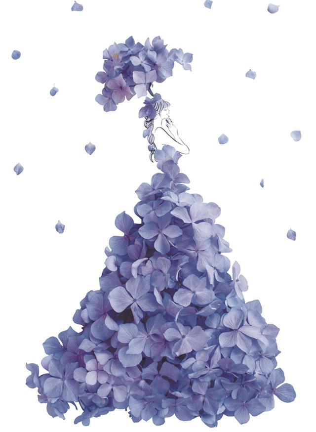 画像3: あなたを「美」しく「咲」かせる祝福の1着 19万人が待っていた、花とウェディング のコラボが実現