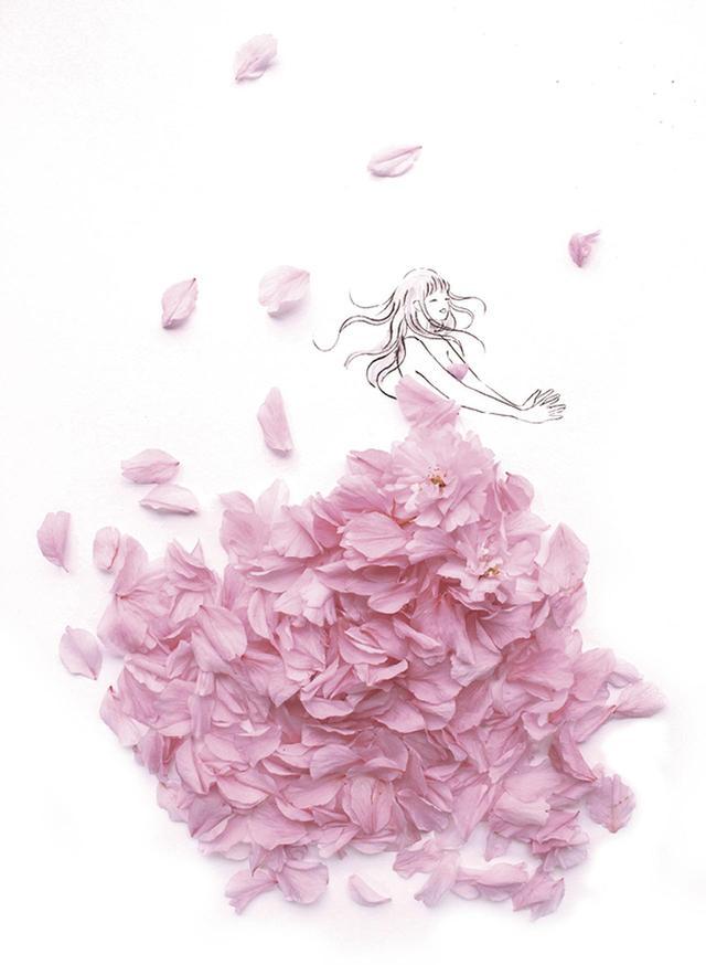 画像1: あなたを「美」しく「咲」かせる祝福の1着 19万人が待っていた、花とウェディング のコラボが実現
