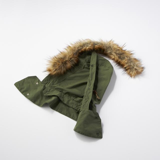 画像7: ミリタリージャケットの代表格M-65をリアルに再現! ライトオンのプライベートブランド「BACK NUMBER」より『モッズコート』 が新発売