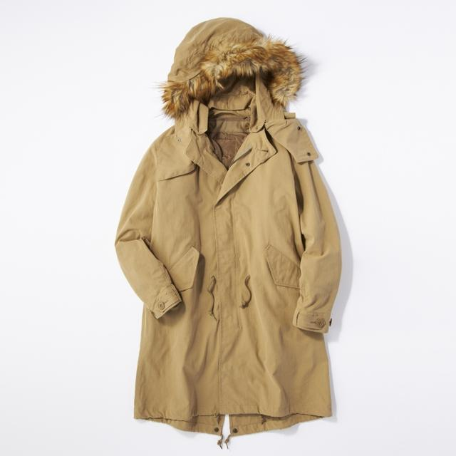 画像3: ミリタリージャケットの代表格M-65をリアルに再現! ライトオンのプライベートブランド「BACK NUMBER」より『モッズコート』 が新発売