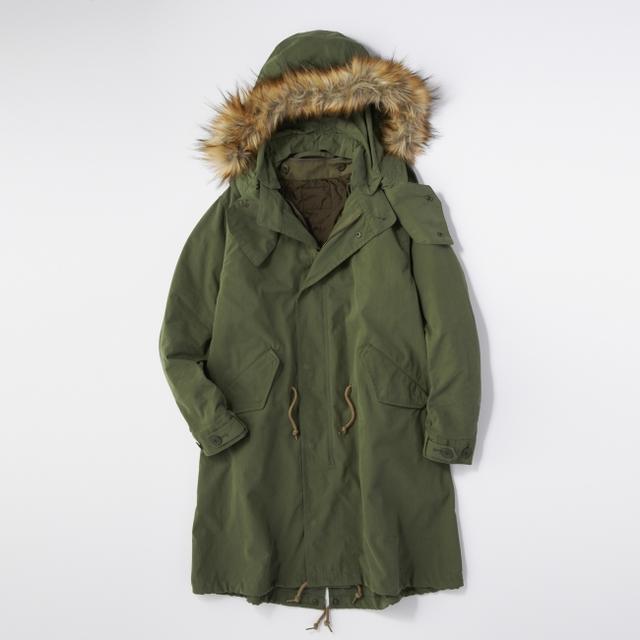 画像2: ミリタリージャケットの代表格M-65をリアルに再現! ライトオンのプライベートブランド「BACK NUMBER」より『モッズコート』 が新発売