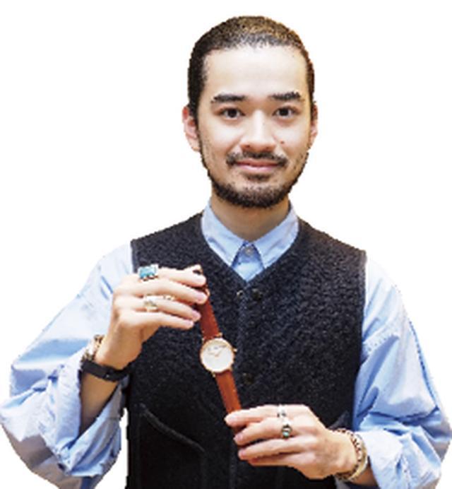 画像1: HIROB Store Maneger 深井源さん 大理石の新作がおススメ 人気急上昇のブランドです
