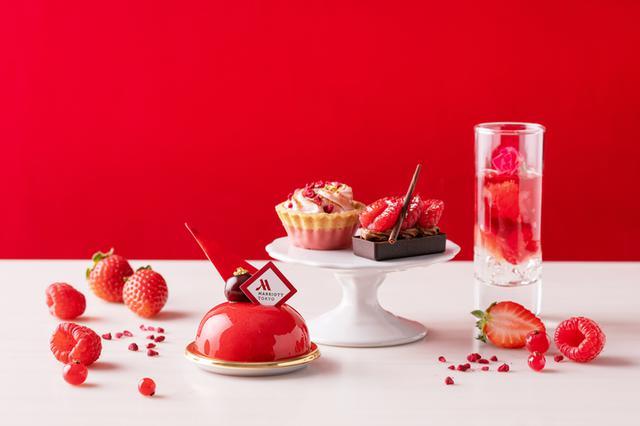 画像1: 【東京マリオットホテル】「TOKYO RED Afternoon Tea(トウキョウ レッド アフタヌーンティー)」レッドカラーに染まる華やかなスイーツ&セイボリー