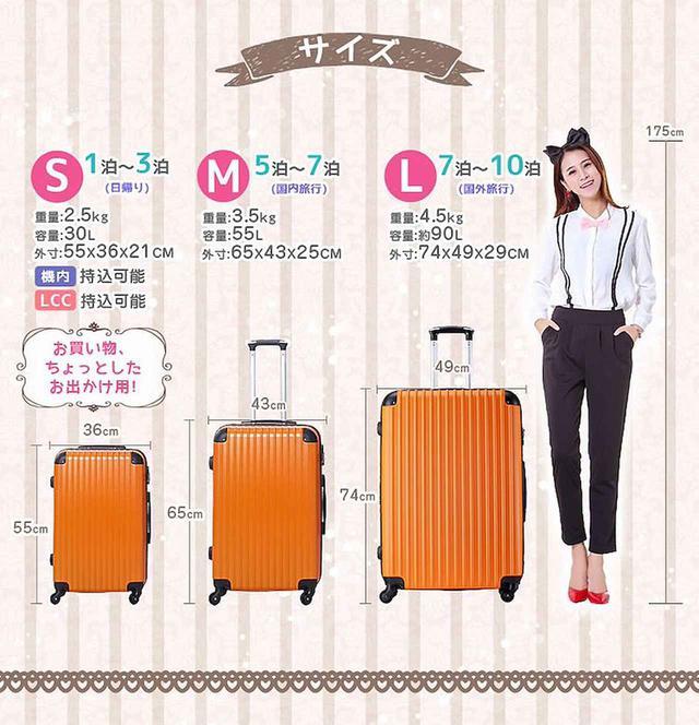 画像2: 通販サイトでランキング連続1位!大人気スーツケース