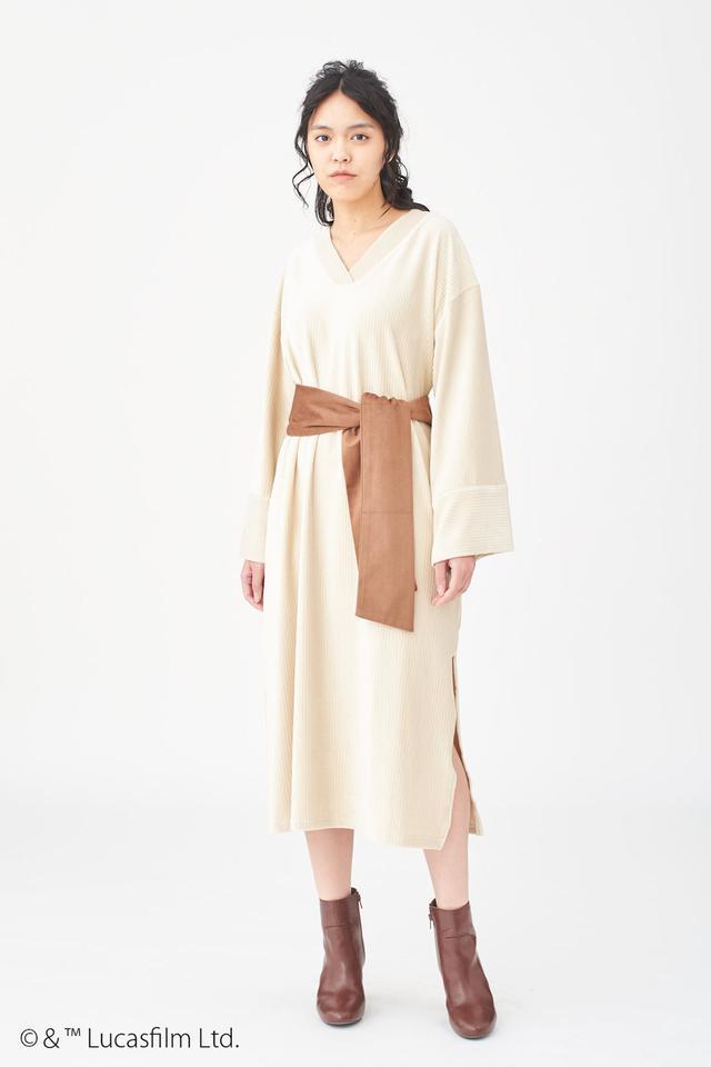 画像1: ジェダイが着用している服を実用的なワンピースに!