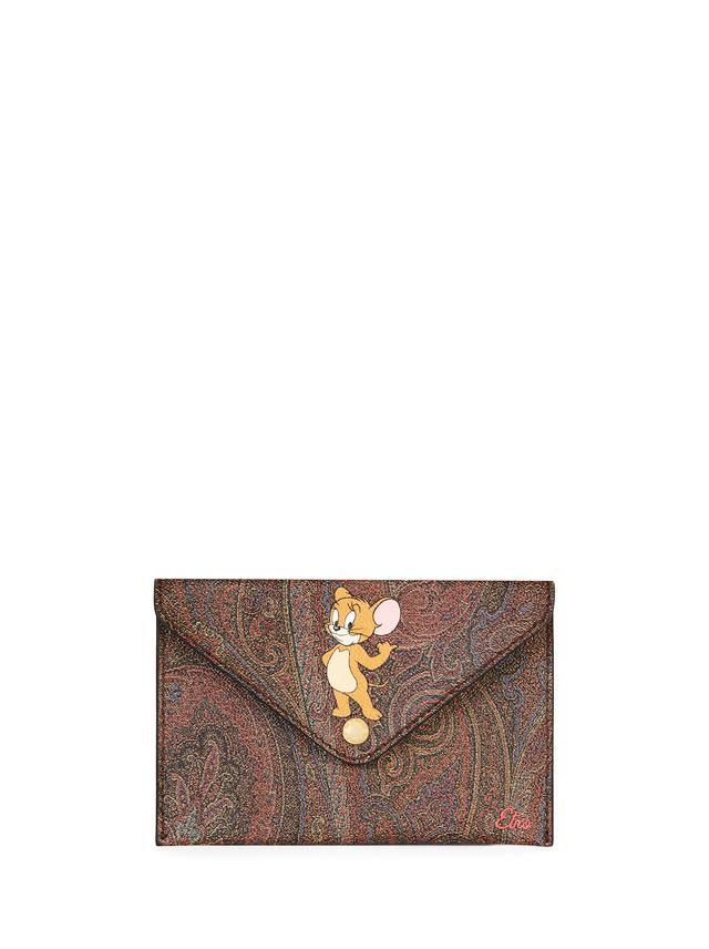 画像: エトロ×トムとジェリー カプセルコレクション クラッチ 20,000円(税抜)