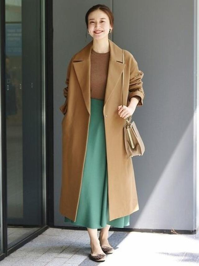画像: 【IENA】ハード圧縮 フレアスカート ¥10,560 ※現在のSALE価格