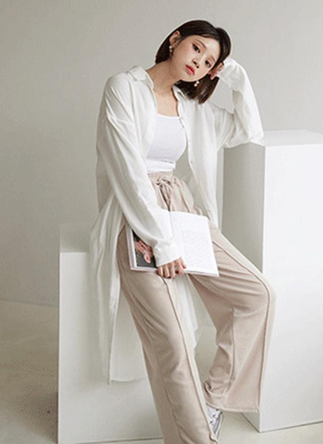 画像: [DHOLIC] コットンシャツワンピース・全3色ドレス・ワンピ|レディースファッション通販 DHOLICディーホリック [ファストファッション 水着 ワンピース]