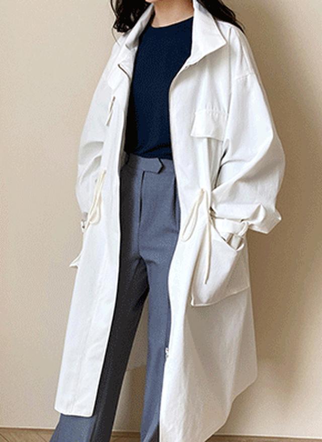 画像: [DHOLIC] ベルト付ジップアップジャケット・全2色アウタージャケット・ブレザー|レディースファッション通販 DHOLICディーホリック [ファストファッション 水着 ワンピース]